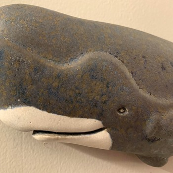 Pottery Sperm Whale - Animals