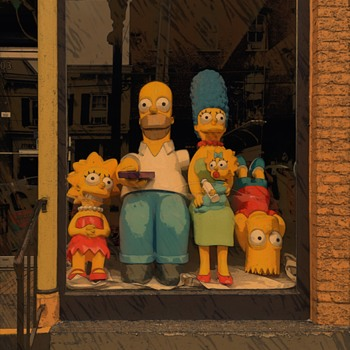 The Simpsons Movie Display Figures (life size) - Movies