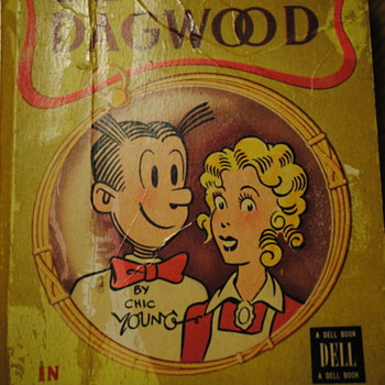 1947 Blondie-Dagwood in Footlight Folly Book - Comic Books