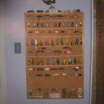 Fishing lure Man Cave - Fishing