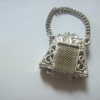 tiny metal handbag piece - Accessories