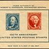 """1947 - """"Philatelic Exhibition"""" Souvenir Sheet (US)"""