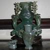 Jade vases
