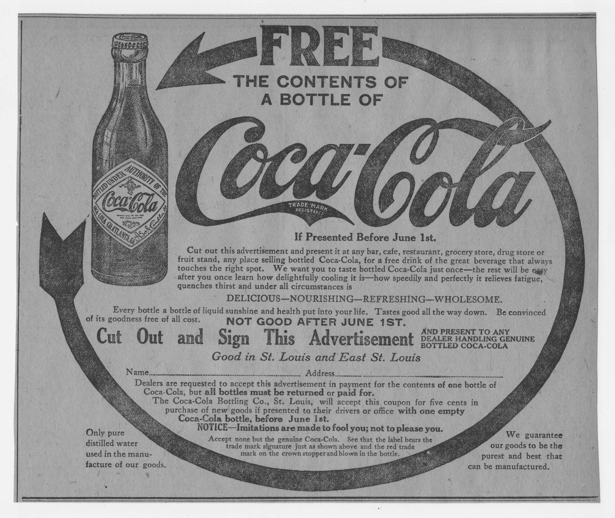 Advertising paper