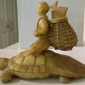 Japanese ivory figurine