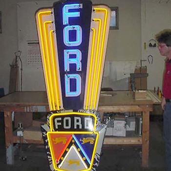 Vintage Automobile Dealership Signs - Signs