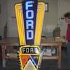 Vintage Automobile Dealership Signs