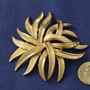 Trifari Stylized Flower Pin