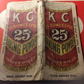 "Groceries ""note book ""April 1930 ,,no  James garner though  - Advertising"