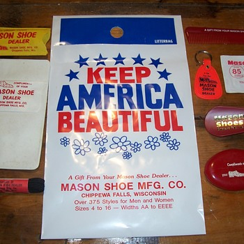 Mason Shoes Premiums - Advertising