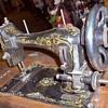 Rare Garcia Coffin Top Treadle Sewing Machine