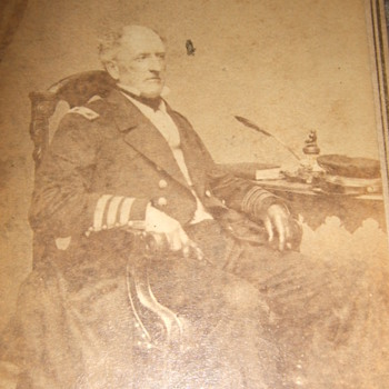Admiral Buchanan (CSN) Civil War CDV by Brady - Military and Wartime