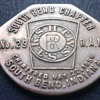 South Bend Chapter 1856 coin or token?
