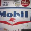 1959 Mobil Oil Porcelain Sign