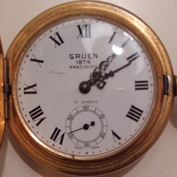 Gruen Precision 1874 pocket watch  - Pocket Watches