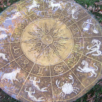 Tarot/Zodiac table - Furniture