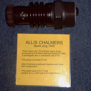 Allis chalmers ignitor