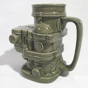 Ford Carburetor Coffee Mug - Classic Cars