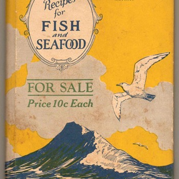 1927 - Fish and Sea Food Recipes Book - Books