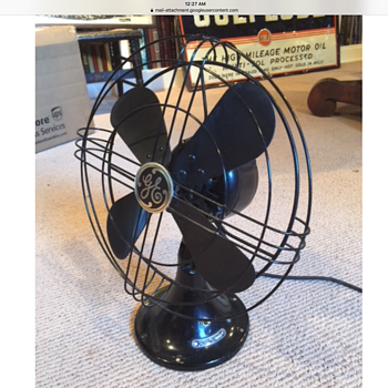 General Electric fan, circa 1932 - Tools and Hardware