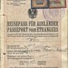1924 Austrian Stateless passport