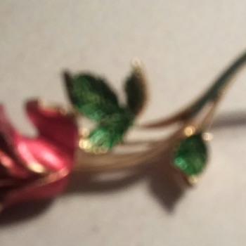 A flower   - Costume Jewelry