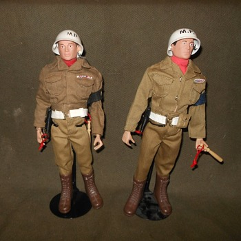 GI Joe Military Police (MP) Sets Original and 40th Anniversary - Toys