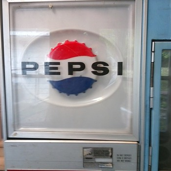 Pepsi Vending Machine - Advertising