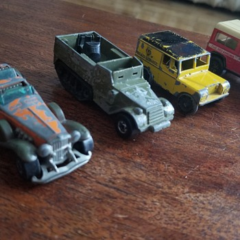 Old Car Toys - before my time  - Model Cars