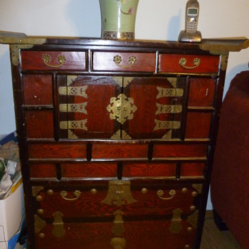 What is this Asian Cabinet?  What would it be used for? - Asian