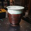 Stoneware Vase signed J.M. 9602