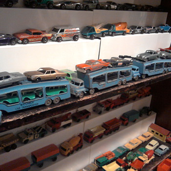 Matchbox Auto Carriers from 1957 were rare on toy shelves as a kid... - Model Cars