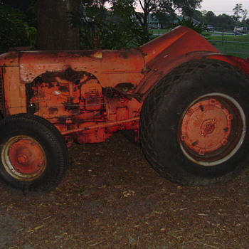1958 Case DO orchard - Tractors