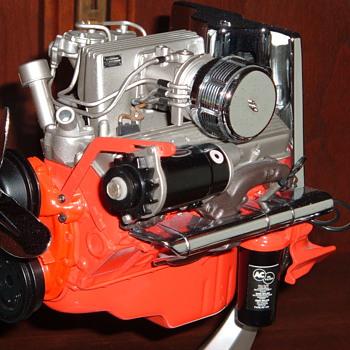 '57 Corvette fuel injection engine model - Model Cars