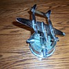 MY DAD`S  TRENCH ART WWII P-38