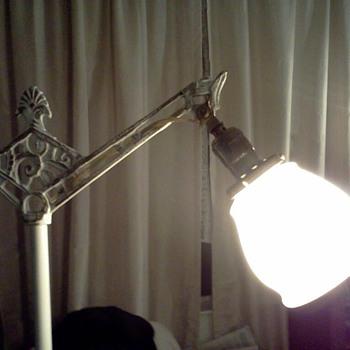 Vintage Bridge Floor Lamp - Art Deco