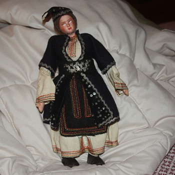 found this doll while going through things after she past away. - Dolls
