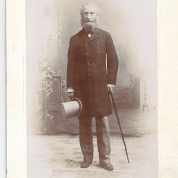 Mr Meagher Sr (Uncle), Late 1800 - Photographs