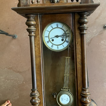 Antique German clock - Clocks