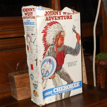 Chief Cherokee Johnny West Adventures Version - Toys