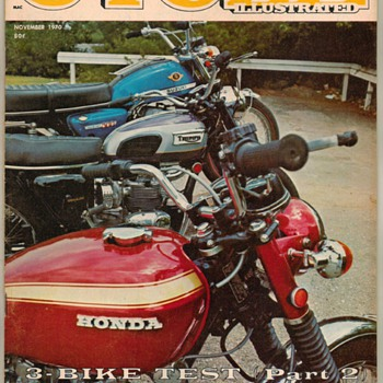 "1970 - ""Cycle Illustrated"" Magazine - Paper"