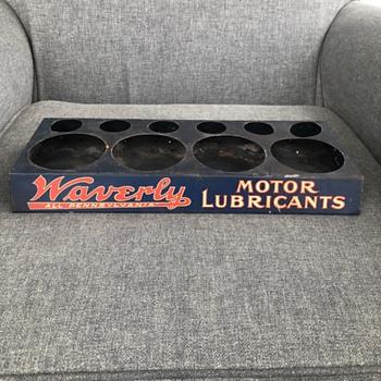 Waverly All Pennsylvania Motor Lubricants Display - Advertising