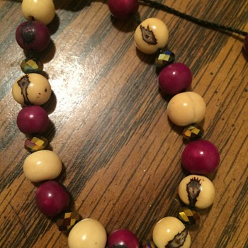 Bracelet acai beaded bracelet - Costume Jewelry