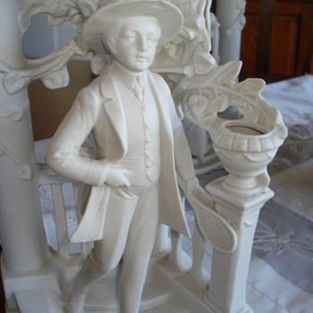 Rare Scheibe-Alsbach bisque figurine - Figurines