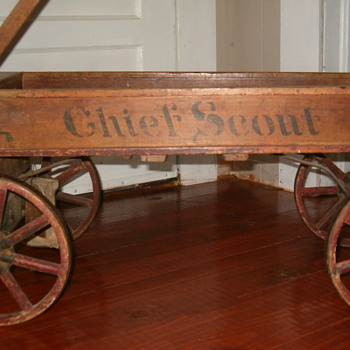 Antique Wagon - Sporting Goods