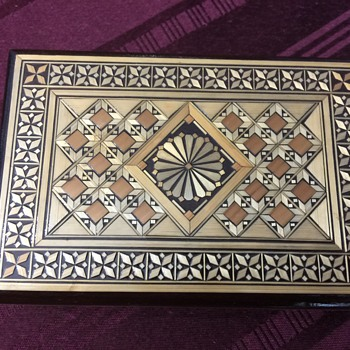 Lovely Russian trinket box - Furniture
