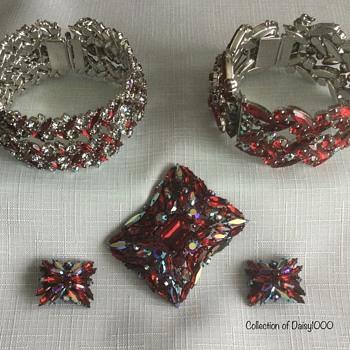 Sherman Jewelry — Siam - Costume Jewelry