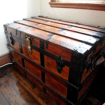 1880's Cedar Antique Trunk - Furniture