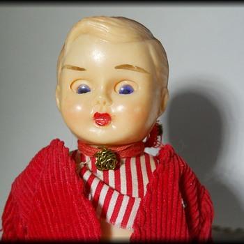 Small little Boy Doll - Dutch Boy ??  - Dolls