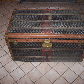 My Paris France Goyard trunk  - Furniture
